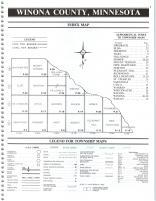 Index Map, Winona County 1990